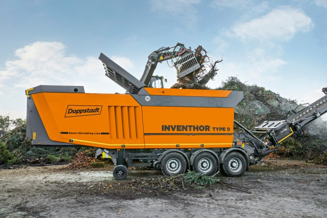 The Inventor Type 9 shredder is a high-performance solution for processing a range of waste materials, including biomass, scrap wood and mixed construction waste.