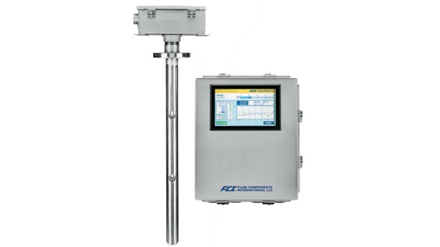Multipoint flow meter from FCI helps monitor stack gas emissions