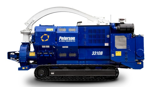 Peterson introduces 3310B drum chipper