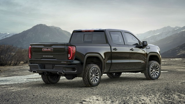 Off-road performance included in GMC Sierra AT4