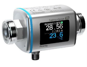 Smart plug-and-play flowmeter for utilities from Endress+Hauser