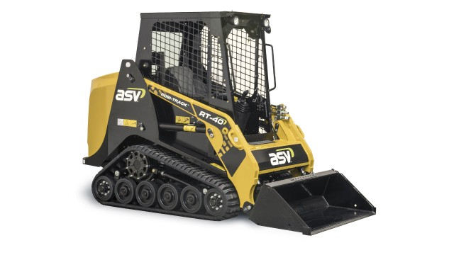 ASV's RT-40 is a productive alternative to walk-behind and stand-on mini skid-steer loaders.
