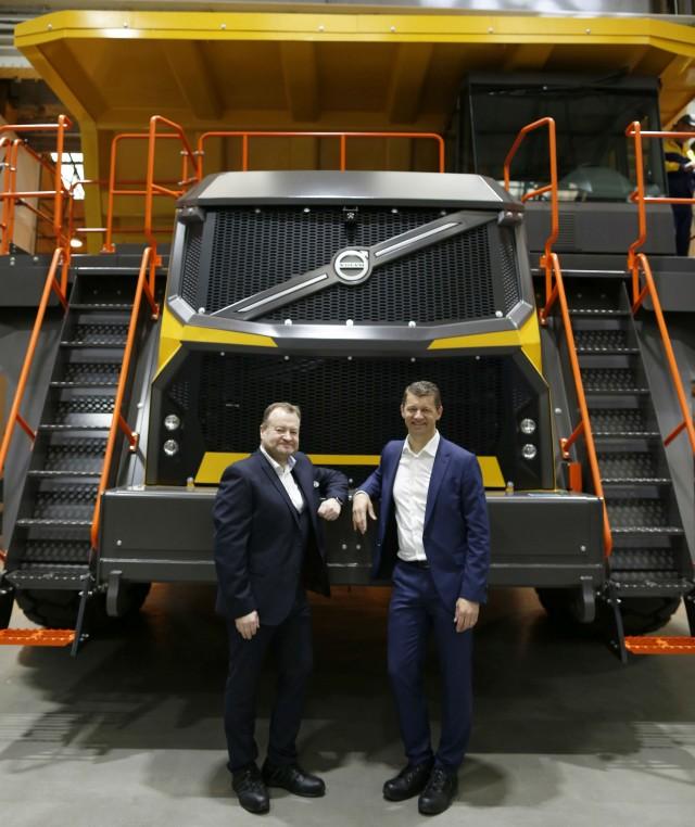Volvo Dealers Pa: Volvo CE Unveils New Range Of Volvo-branded Rigid Haulers