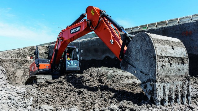 In-depth report: tracked excavators 10 to 40 metric tonnes