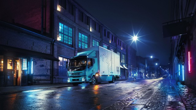 Volvo's first all-electric truck for commercial use.