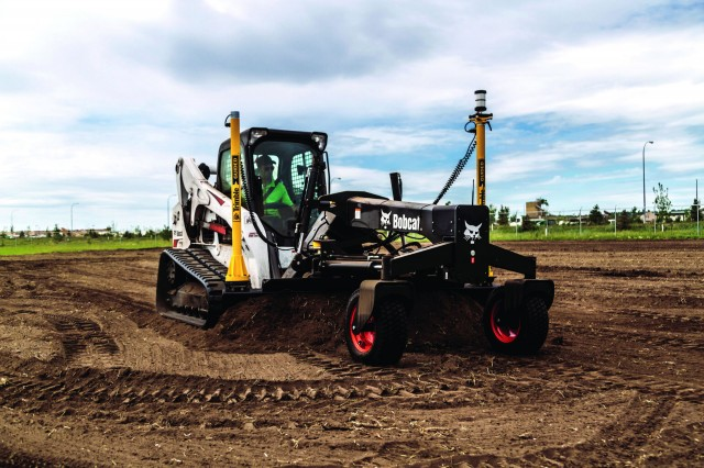 The Bobcat T770 compact track loader.