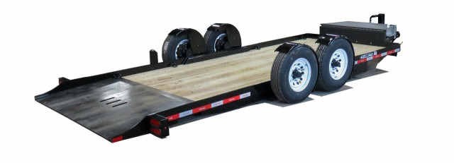 Felling Trailers EZ Tilt Technology for ground level loading