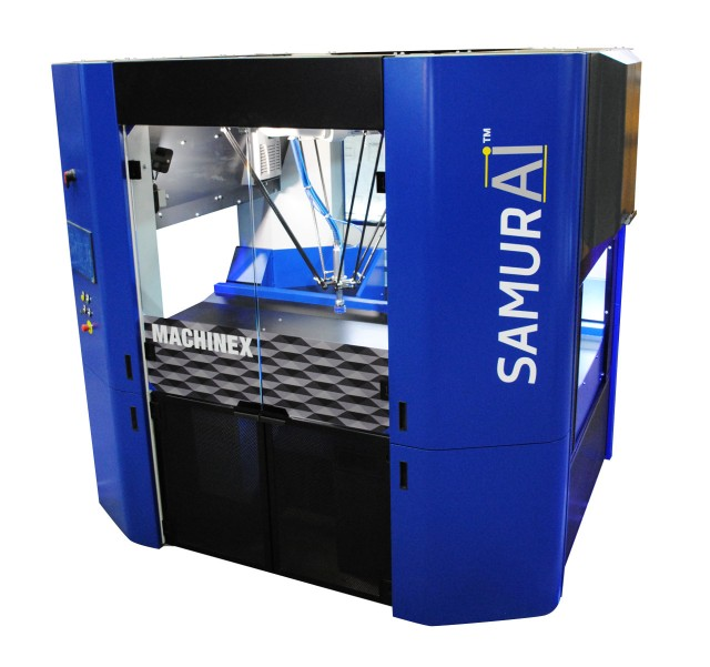 Machinex to present Samurai sorting robot at Waste Expo and IFAT