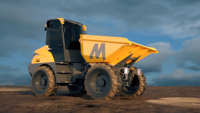 Mecalac introduces cabbed site dumpers at Intermat