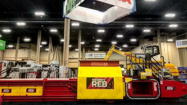 ​Sierra International Machinery introduces REB4 Two-Ram Baler