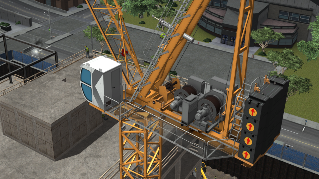CM Labs launches training pack for luffing tower cranes