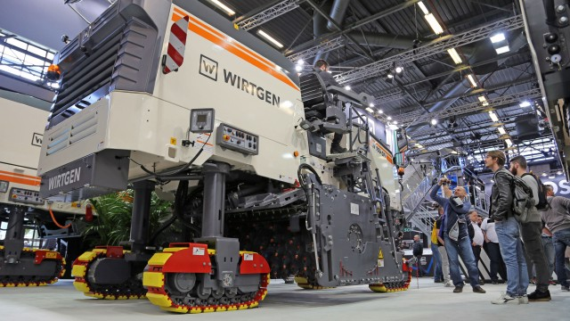 Wirtgen Group technologies impress at Intermat