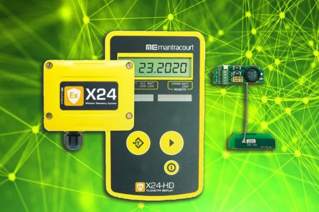 ATEX / IECEX Wireless Telemetry Sensor System