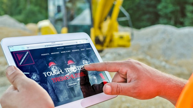 Redesigned HammerHead Trenchless website enhances customer productivity