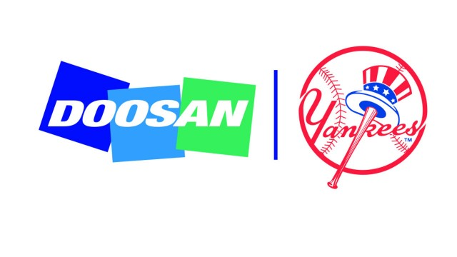 Doosan expands sports partnerships through deal with Yankees