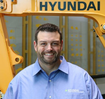 Hyundai Construction hires new product specialist, adds four new U.S. dealers