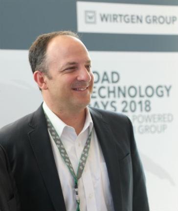 Wirtgen CEO Domenic G. Ruccolo.