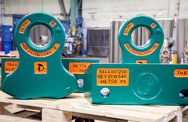 Optimized cost per ton with Metso Alloy Hammers for Metso shredders