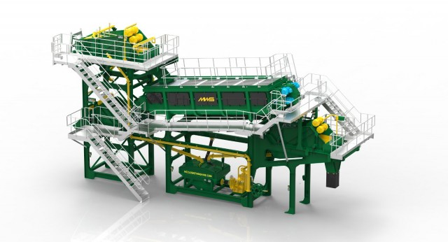 The McCloskey AGGSTORM  is a modular plant designed to remove harsh, clay-bound material from natural and crushed gravel, stone and ore feeds that cannot be removed by rinsing or screening alone, and also works very well in C&D recycling applications.