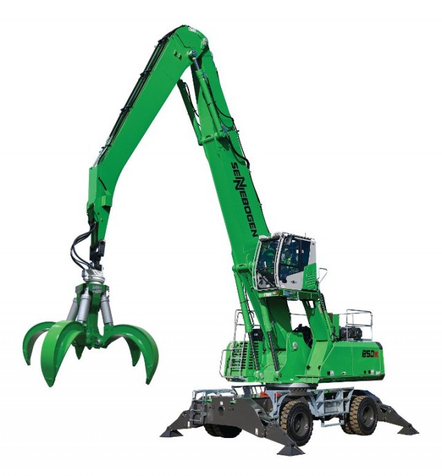 ​SENNEBOGEN introduces 850 E Series material handlers