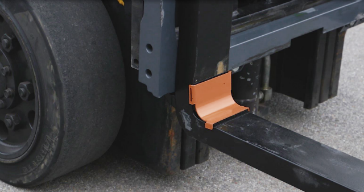 Arrow Material Handling Products's Fork Shield protects forks from damage