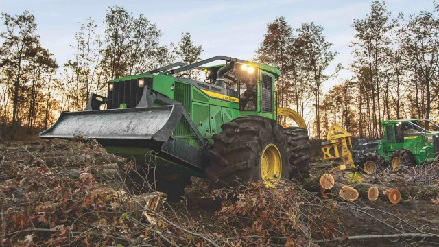 John Deere announces equipment and warranty additions for certified used forestry equipment