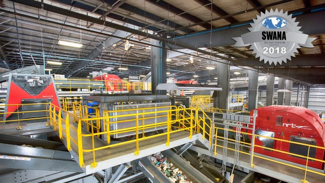 ​SWANA awards Penn Waste for retrofitted recycling system