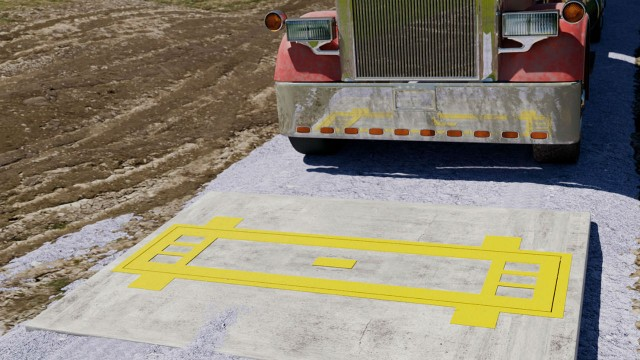 Trucks can simply drive over this new scale from Alliance and weigh each axle.