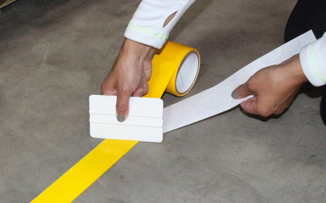 ​Visual Workplace introduces Floor-Mark high-performance  floor marking tape for industrial workplace safety