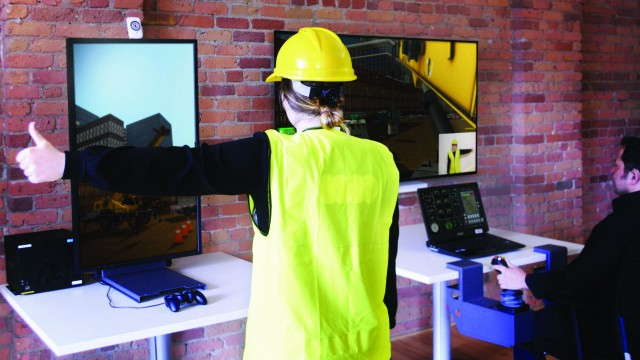 Signaller Training Station simulator from CM Labs offers team-based cooperative training