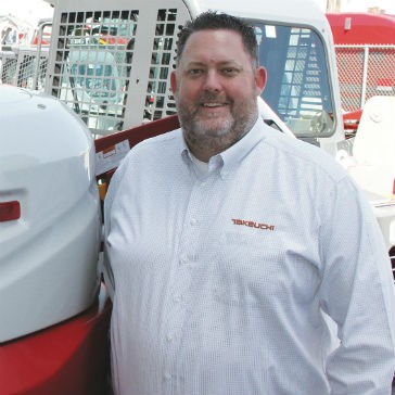 Takeuchi appoints Todd Granger as new director of dealer sales