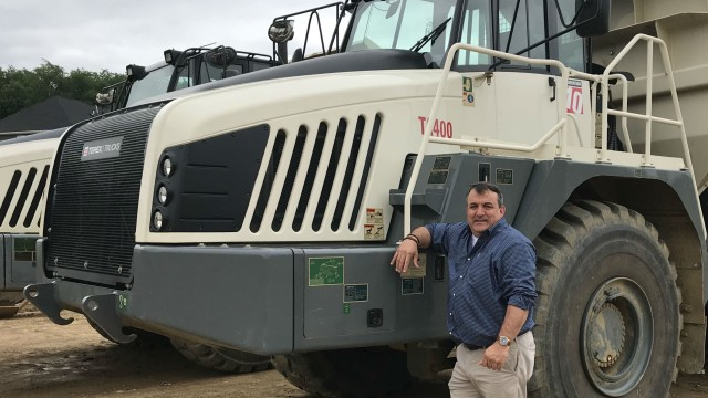 Kevin Clark is Terex Trucks' new regional sales manager for north east America and Canada.