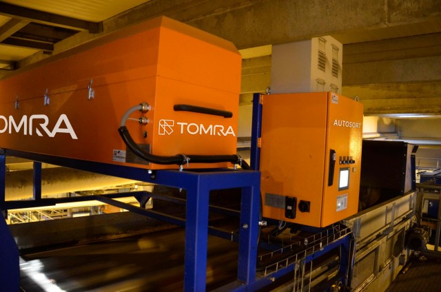 TOMRA's Auto Sort technology.