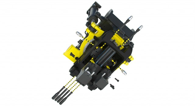Engcon hydraulic tool connection goes hoseless