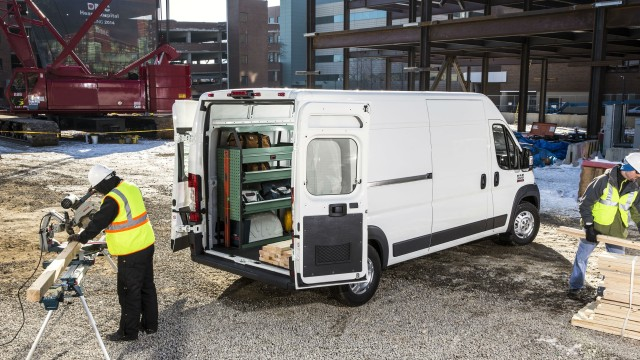 The Ram ProMaster vans offer a range of capacities and capabilities for contractors.
