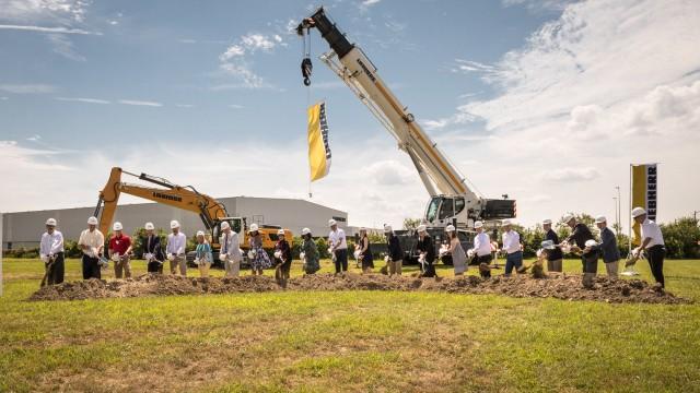 Liebherr USA Co. celebrates groundbreaking on new headquarters in Newport News, Virginia
