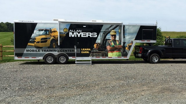 Allan Myers uses Volvo CE Advanced Training Simulator to recruit workforce