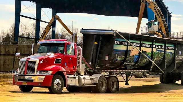 Largest metal recycler in Eastern U.S. adds Western Star fleet to keep business growing