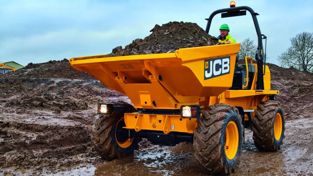 JCB launches new site dumper range in U.S., Canada