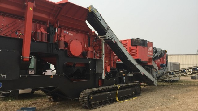 The SBM Remax 500 impact crusher arrived just in time for Customer Appreciation Days.