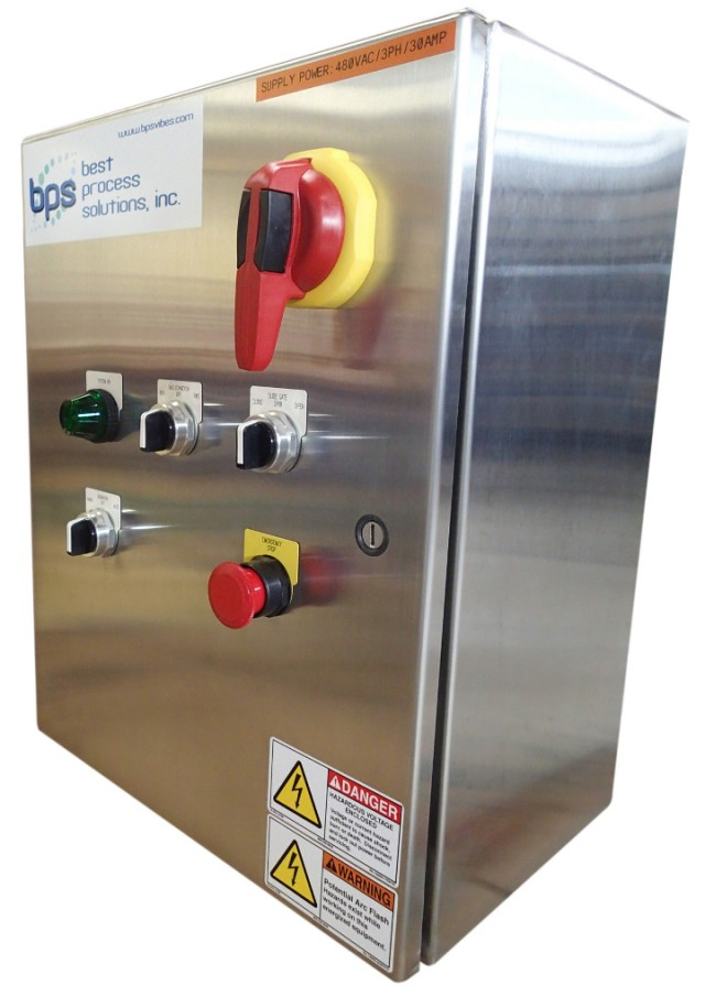 BPS System Controls designed for recycling equipment and operations