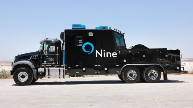New wireline trucks rolled out by Nine Energy Service