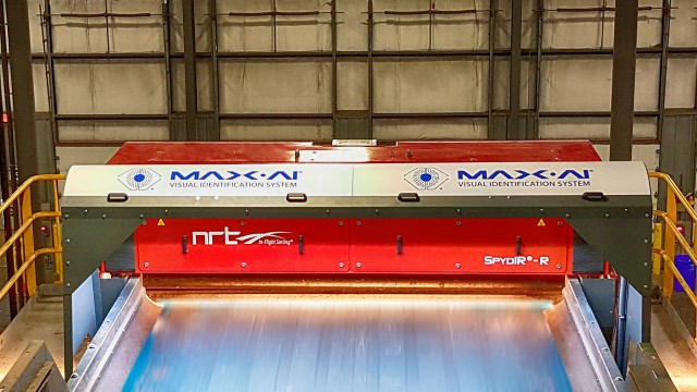 NRT adds Max-AI technology to optical sorters