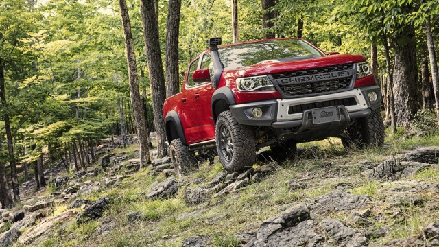 The Chevrolet Colorado ZR2 Bison brings rugged off-road performance while maintaining on-road driveability.