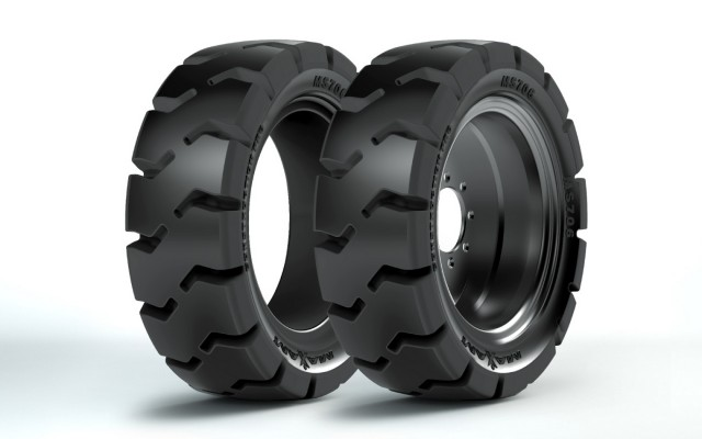 All-new MAXAM MS706 solid skid-steer tire features zero maintenance and extreme durability