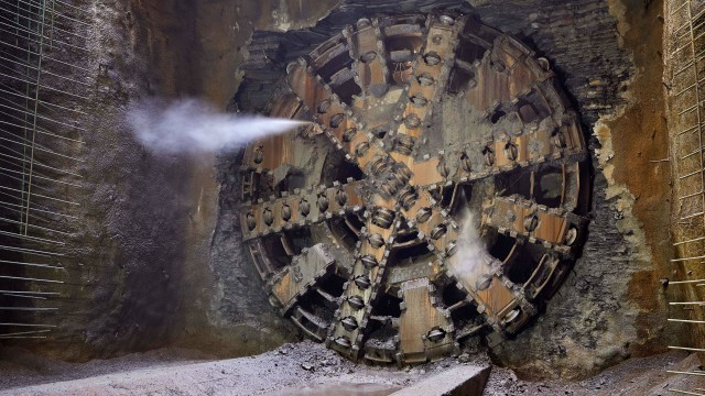 Robbins TBM breaks through on Ohio Canal project