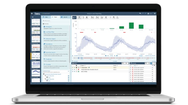 Seeq advanced analytics solutions available via SaaS