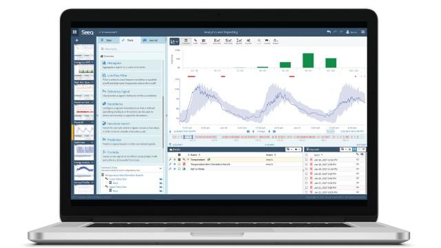 Seeq advanced analytics solutions available via SaaS