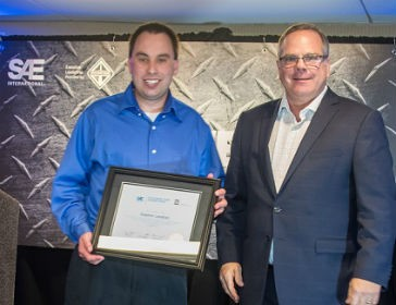 Volvo CE engineer earns Outstanding Young Engineer Award
