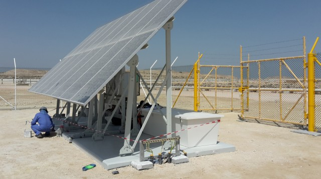 Alcad batteries at the heart of wellhead corrosion protection system